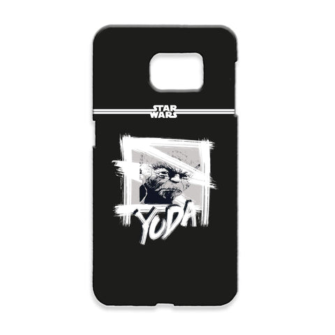 Virgin Teez Mobile Cover Star Wars Yoda Paint Samsung Phone Case