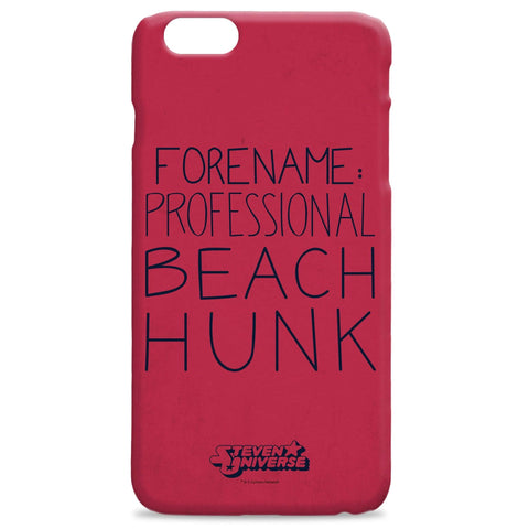Virgin Teez Mobile Cover Steven Universe Beach Hunk Case