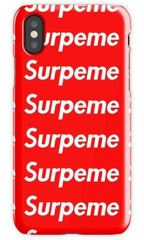 Virgin Teez Mobile Cover Supreme Hypebeast Mobile Cover