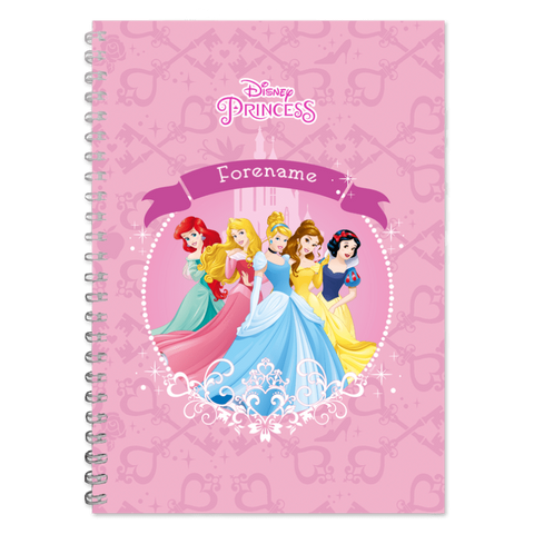Virgin Teez Notebook Princess Group A5 Notepad
