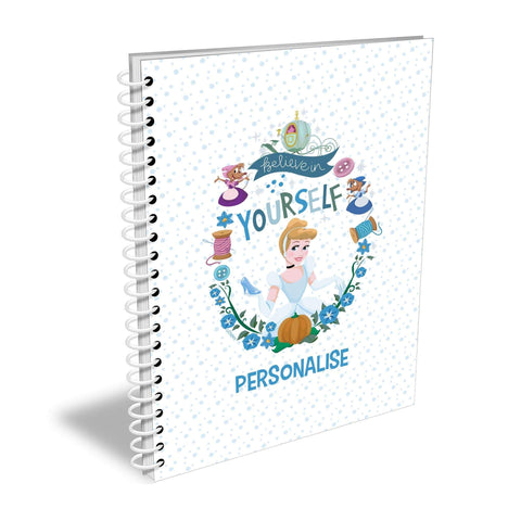 Virgin Teez Notebook Princess True Cinderella A5 Lined Notepad