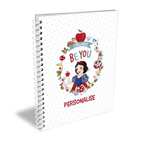 Virgin Teez Notebook Princess True Snow White A5 Lined Notepad
