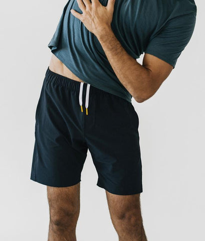 Virgin Teez Shorts Graphite (Dark Navy) Plain Shorts