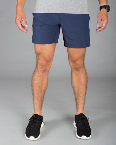 Virgin Teez Shorts Mako Blue Plain Shorts