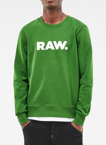 Virgin Teez Sweat Shirt Raw Green Sweat Shirt