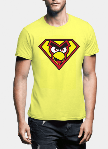 Virgin Teez T-shirt Angry Bird Half Sleeves T-shirt