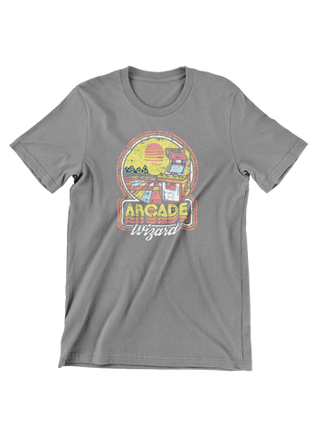VIRGIN TEEZ T-SHIRT Arcade Wizard T-Shirt