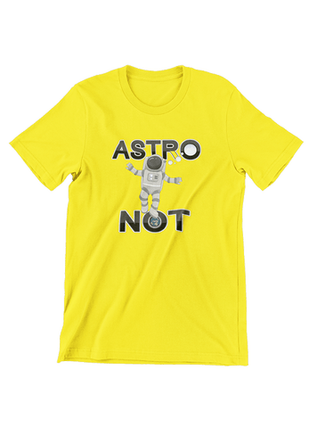 Virgin Teez T-SHIRT Astro Not T-Shirt