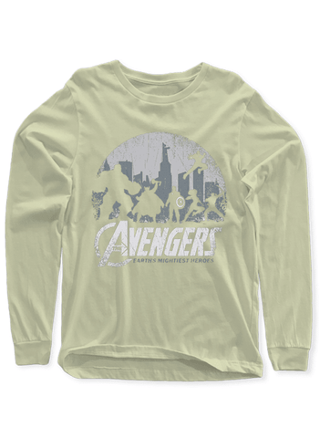Virgin Teez T-shirt Avengers Full Sleeves T-shirt
