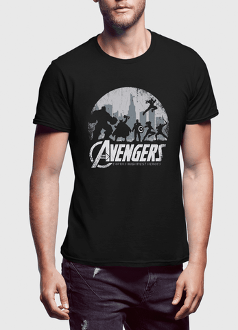Virgin Teez T-shirt Avengers Half Sleeves T-shirt