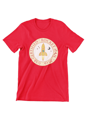 Virgin Teez T-SHIRT Certified Rocket T-Shirt