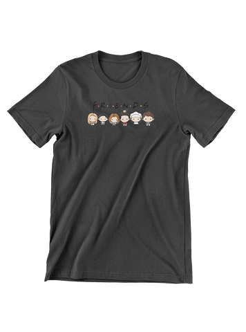 Virgin Teez T-SHIRT Chibi Friends Line Up T-Shirt