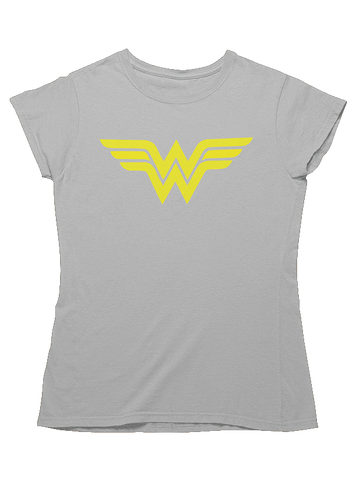 Virgin Teez T-SHIRT DC Comics Superman Black And White Title Women T-Shirt