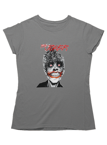 Virgin Teez T-SHIRT DC Comics The Joker Bats Women T-Shirt
