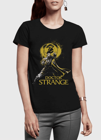 Virgin Teez T-shirt DOCTOR STRANGE Half Sleeves Women T-shirt