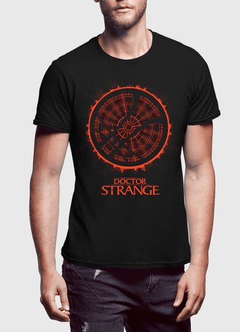 Virgin Teez T-shirt DOCTOR STRANGE LOGO Half Sleeves T-shirt
