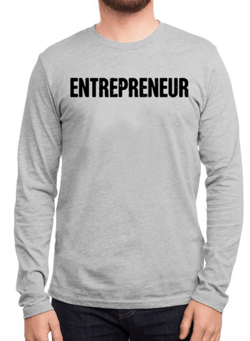 Virgin Teez T-shirt Entrepreneur Full Sleeves T-shirt