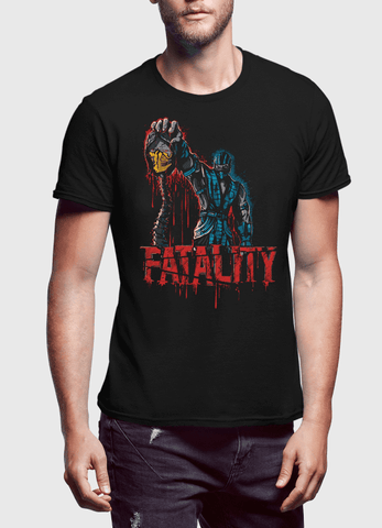 Virgin Teez T-shirt FATALITY Half Sleeves T-shirt