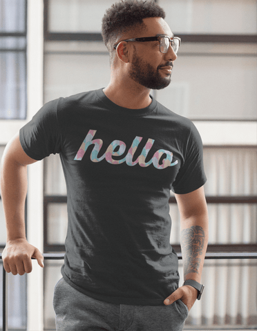 Virgin Teez T-SHIRT Hello  T-shirt