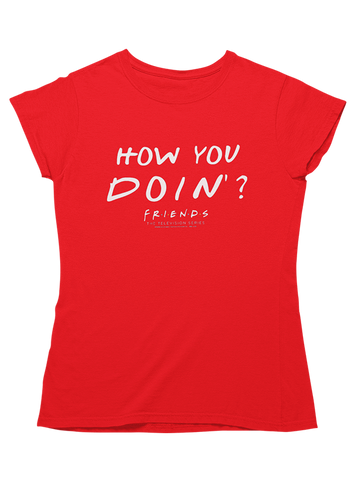 Virgin Teez T-SHIRT How You Doin' Women T-Shirt