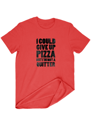 Virgin Teez T-SHIRT I Could Giveup Pizza T-SHIRT