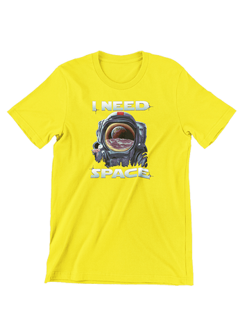 Virgin Teez T-SHIRT I Need Space T-Shirt