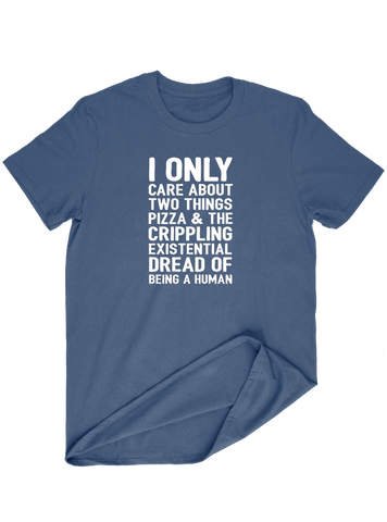 Virgin Teez T-SHIRT I Only Care About Two Things T-SHIRT