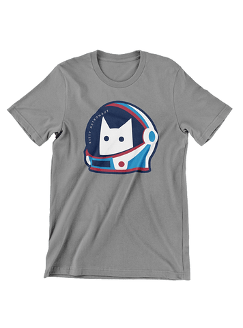 Virgin Teez T-SHIRT Kitty Astronaut T-Shirt