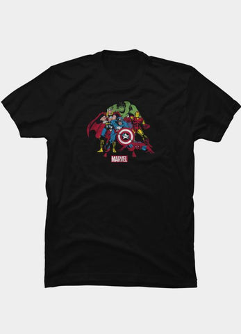 Virgin Teez T-SHIRT Marvel 10