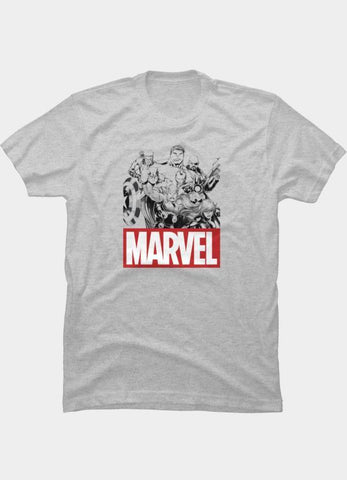 Virgin Teez T-SHIRT Marvel 13