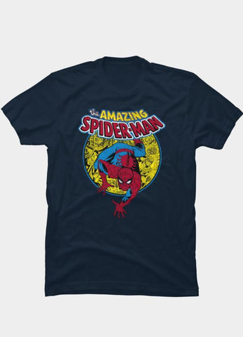 Virgin Teez T-SHIRT Marvel 2