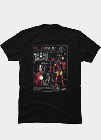 Virgin Teez T-SHIRT Marvel 24