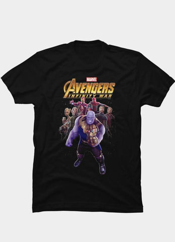 Virgin Teez T-SHIRT Marvel 29