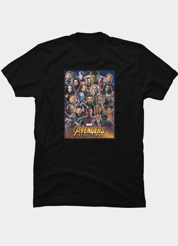 Virgin Teez T-SHIRT Marvel 40