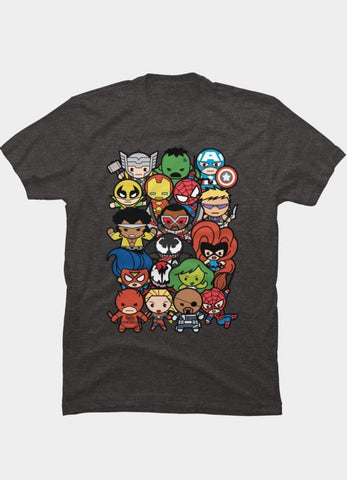 Virgin Teez T-SHIRT Marvel 46
