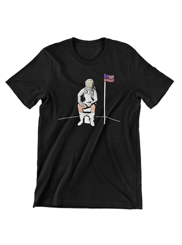 Virgin Teez T-SHIRT Meditation on the Moon T-Shirt