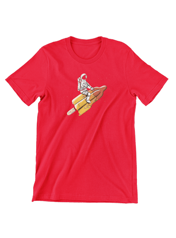 Virgin Teez T-SHIRT Melted Rocket T-Shirt