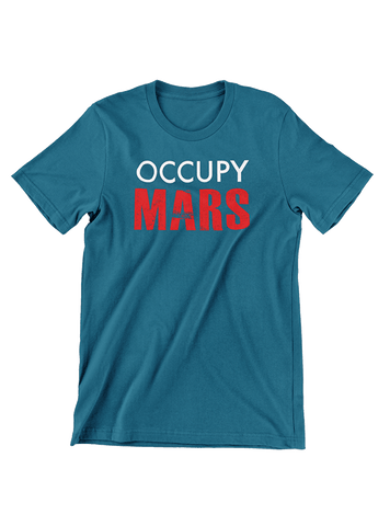 Virgin Teez T-SHIRT Occupy Mars T-Shirt