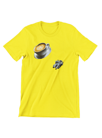 Virgin Teez T-SHIRT Planet Coffee T-Shirt