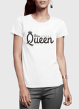 Virgin Teez T-shirt Queen Half Sleeves Women T-shirt