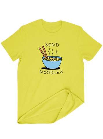 Virgin Teez T-SHIRT Send Noodles T-SHIRT