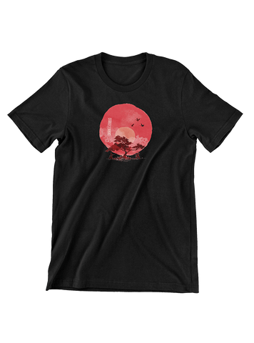 VIRGIN TEEZ T-SHIRT Small / Black Duel under the sun T-Shirt