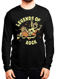Virgin Teez T-shirt SMALL / Black LEGENDS OF ROCK Full Sleeves T-shirt