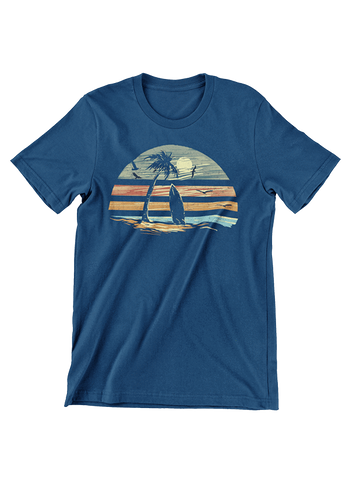 VIRGIN TEEZ T-SHIRT Small / Navy Deep Summer T-Shirt
