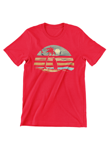 VIRGIN TEEZ T-SHIRT Small / Red Deep Summer T-Shirt