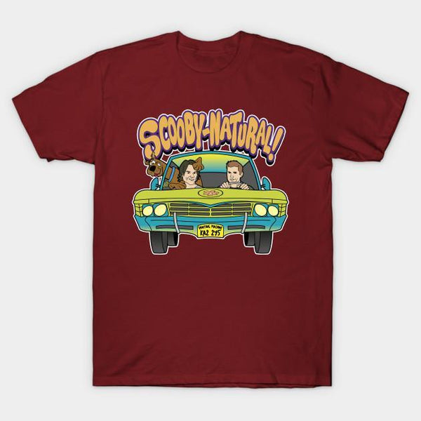 Virgin Teez T-shirt SMALL Supernatural Mystery Machine Scooby Half Sleeves T-shirt