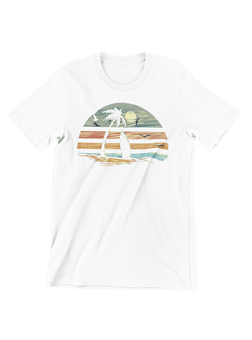 VIRGIN TEEZ T-SHIRT Small / White Deep Summer T-Shirt