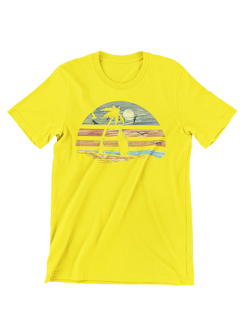 VIRGIN TEEZ T-SHIRT Small / Yellow Deep Summer T-Shirt