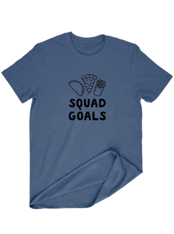Virgin Teez T-SHIRT Squad Goals T-SHIRT