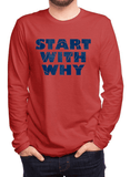 Virgin Teez T-shirt Start With Why Full Sleeves T-shirt